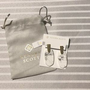 Kendra Scott Howlite Earrings